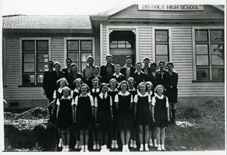 Queenstown District High School 1941