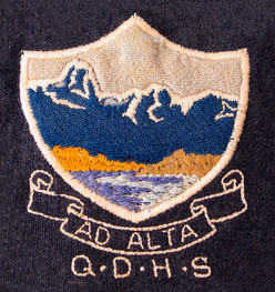 QDHS logo embroidery
