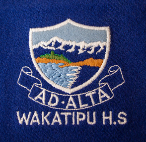 WHS logo embroidery