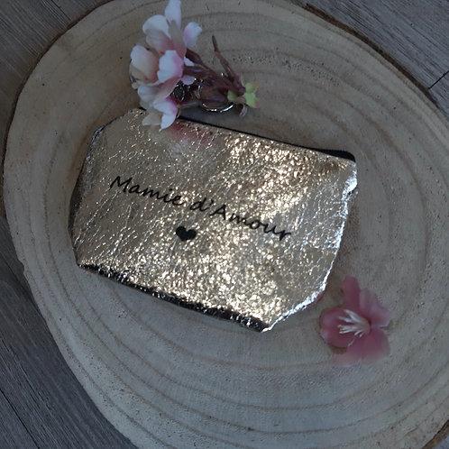 Porte Monnaie brillant: Mamie d'amour