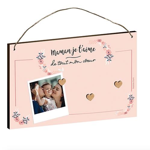 Cadre aimanté: Maman je t'aime