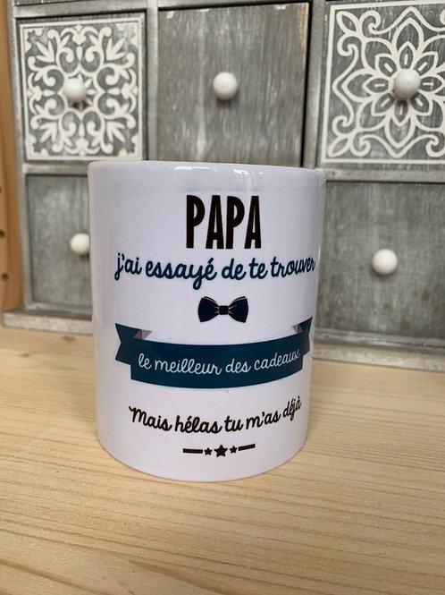 Mug: Papa cadeau