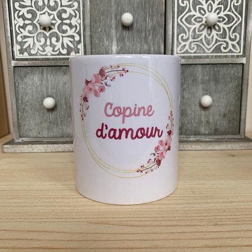 Mug: Copine D'amour