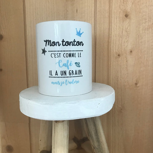 Mug: Tonton grain de café