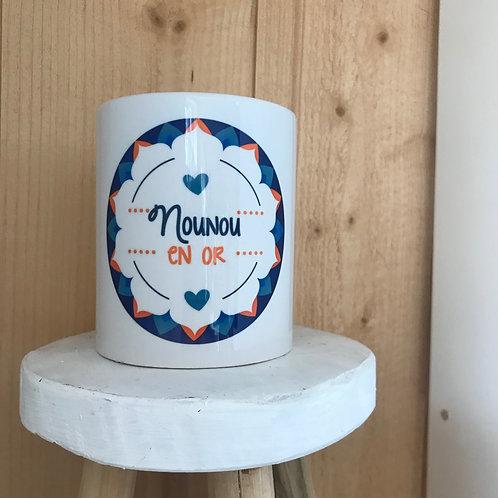 Mug: Nounou en Or