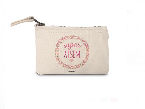 Porte Monnaie en coton: Super Atsem