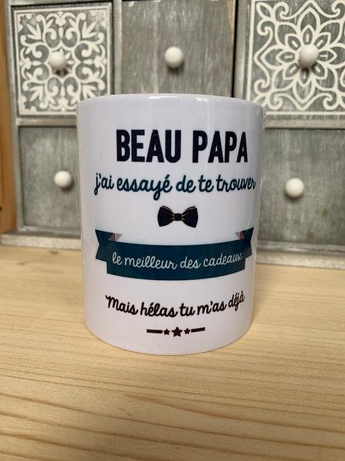 Mug: beau papa cadeau