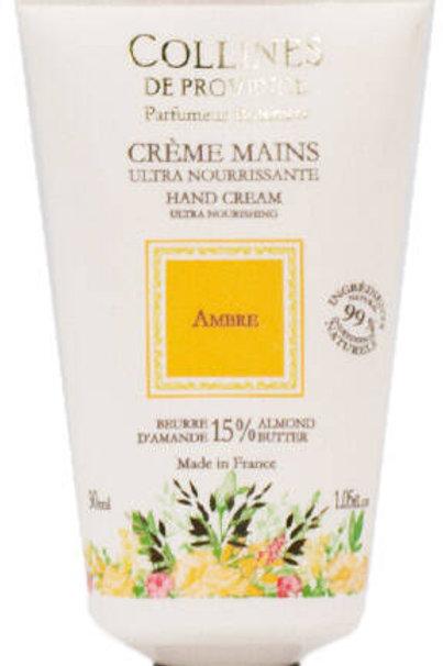 Crème Mains: Ambre