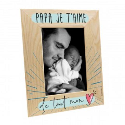 Cadre photo: Papa je t'aime ...