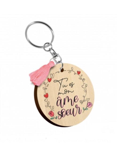 Porte clés: tu es mon âme soeur