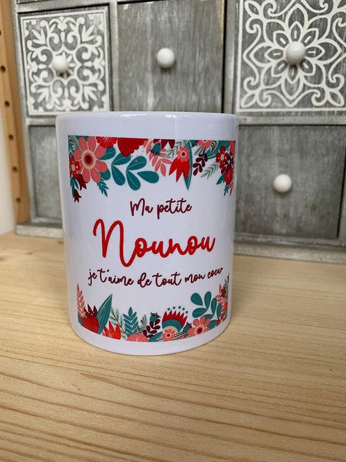 Mug: ma petite Nounou
