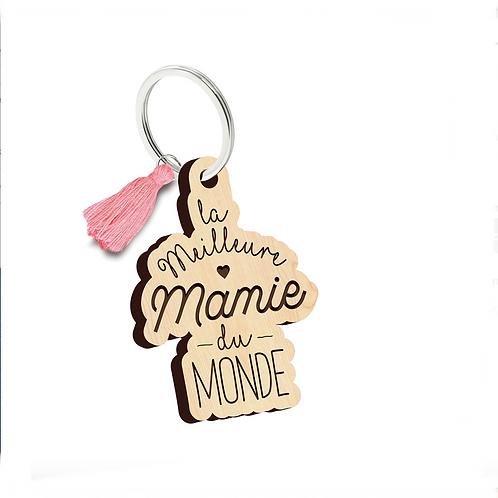 Porte clés: La meilleure Mamie du monde