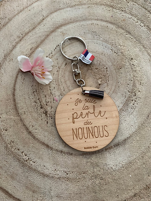 Porte clés: Perle de Nounous