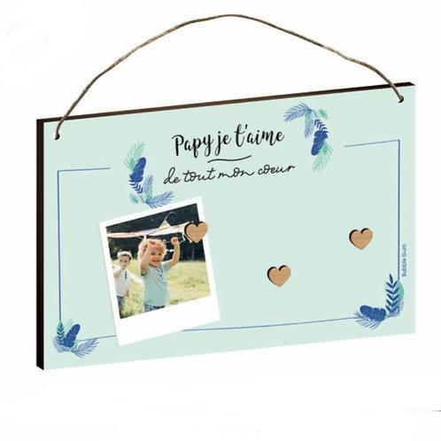 Plaque aimanté: Papy je t'aime