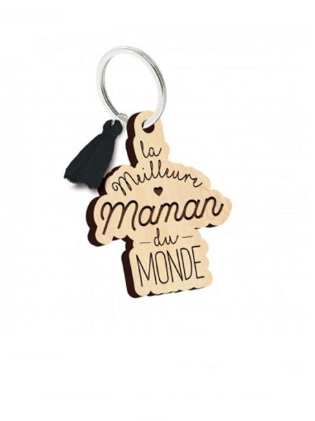 Porte clés: la meilleure maman du monde