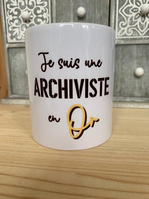 Mug: Archiviste