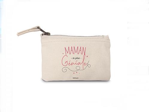 Porte Monnaie en coton: Maman