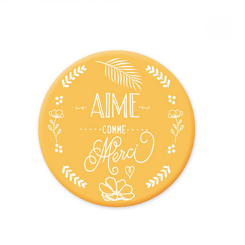 Magnet: Aime comme Merci