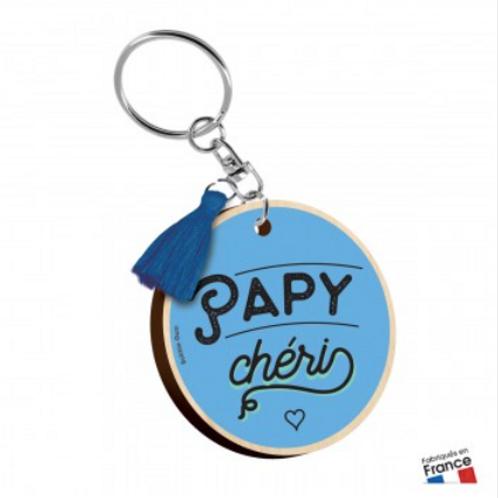 Porte clés: Papy chéri