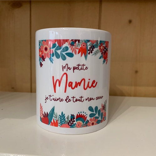Mug: Ma petite Mamie