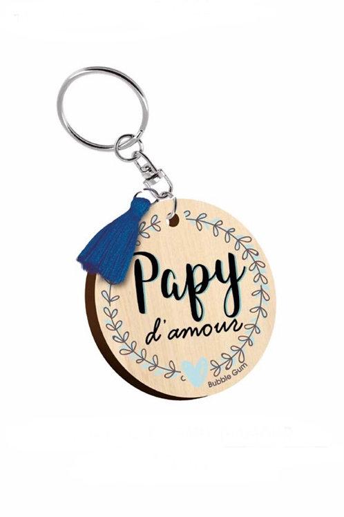 Porte clés: Papy d'amour