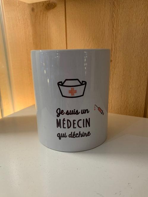 Mug: Médecin
