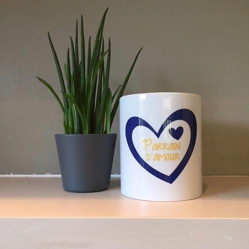 Mug: Parrain d'amour