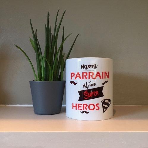 Mug: Parrain héros