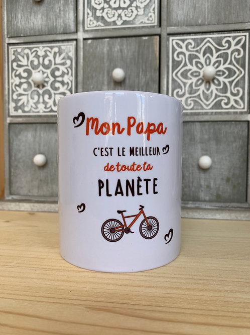 Mug: Papa meilleur de la planète