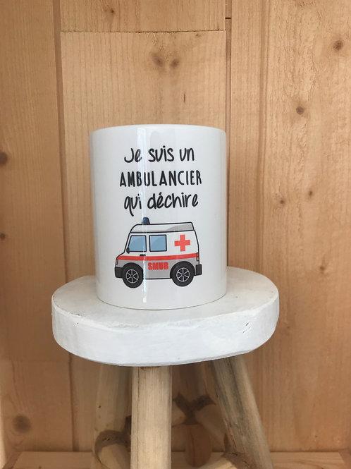 Mug: Ambulancier