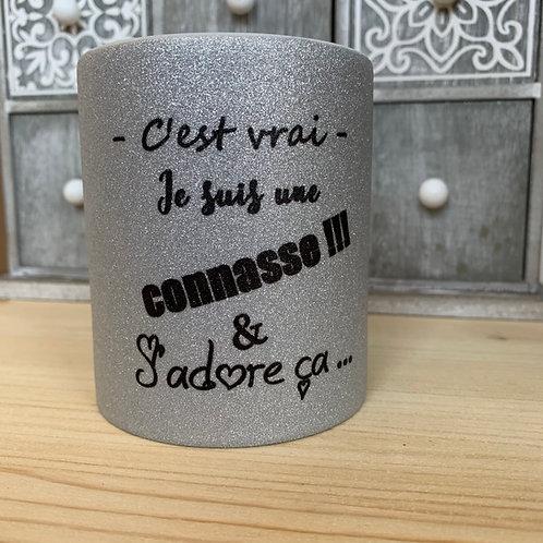 Mug paillettes: Conasse