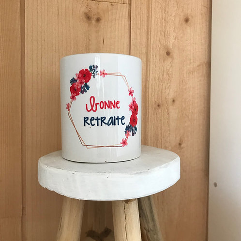 Mug: Bonne retraite