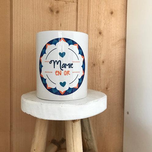 Mug: Mamie en Or