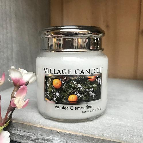 Bougie winter clementine