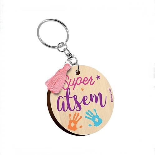 Porte clés: Super Atsem
