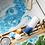 Thumbnail: Boules de bain: collier or