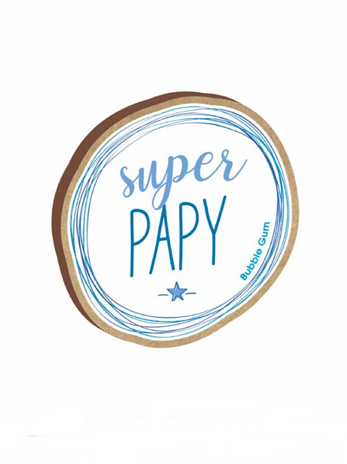 Magnet: Super Papy