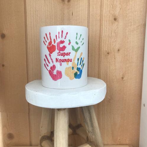 Mug : Super Nounou mains