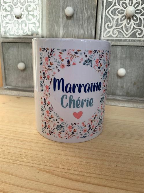 Mug: Marraine chérie