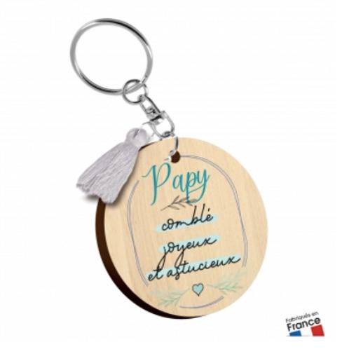 Porte clés: Papy comblé