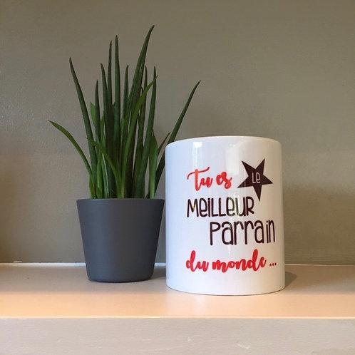 Mug: Meilleur Parrain