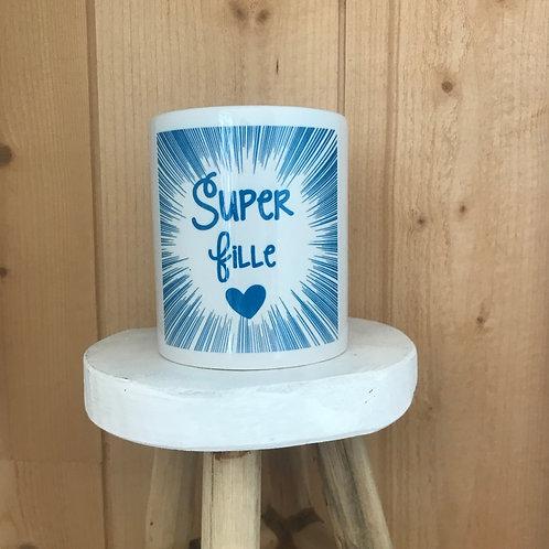 Mug: Super fille