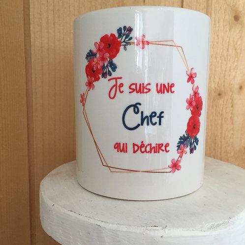 Mug: Chef qui déchire