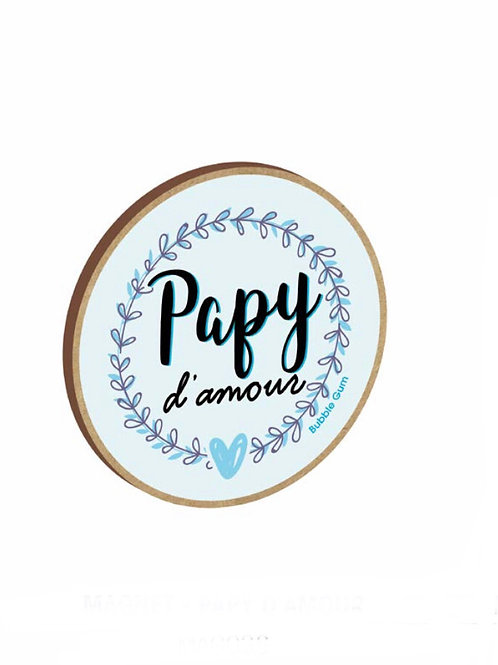 Magnet: Papy d'amour