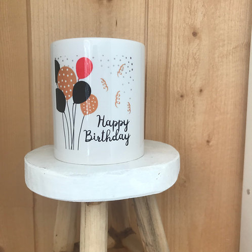 Mug: Happy Birthday