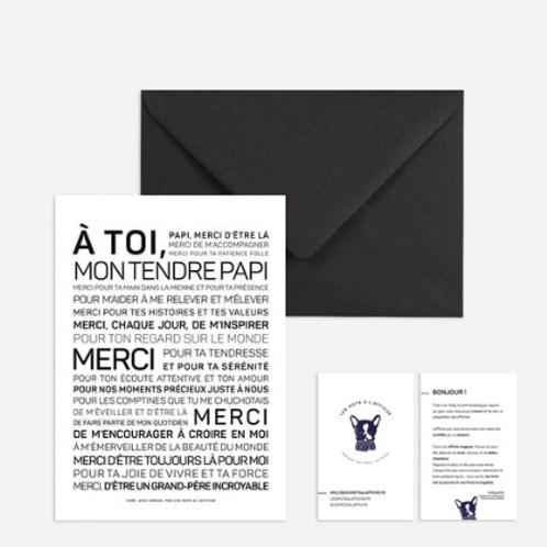 Carte Postale: à toi mon tendre Papi