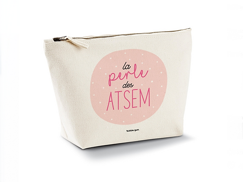 Pochette coton bio: la perle des Atsem