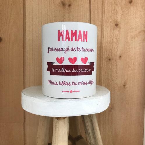 Mug Maman, mon cadeau c'est moi