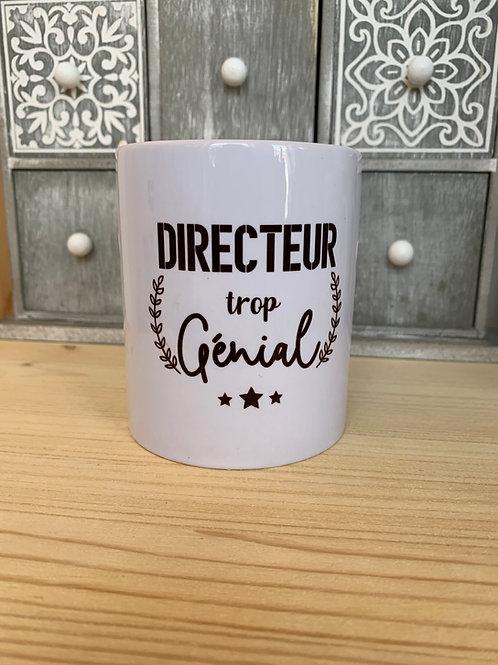 Mug: Directeur trop génial