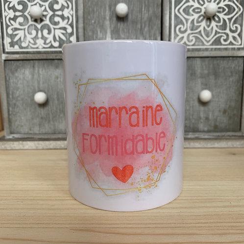 Mug: Marraine formidable